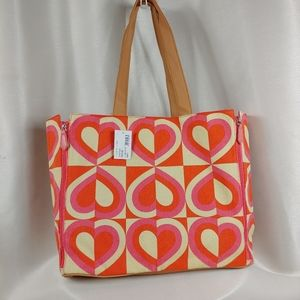 DSW Graphic Extra Large Beach/Travel Tote